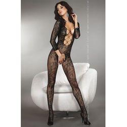 Zita seksowne bodystocking z dekoltem i rękawem wyprodukowany przez Livia corsetti