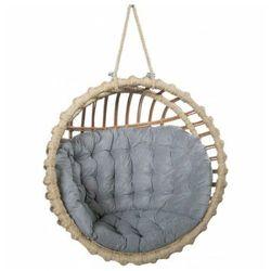 Producent: elior Okrągły fotel jajo z wikliny do ogrodu - petro