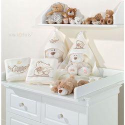 kocyk polarowy śpioch w hamaku w brązie marki Mamo-tato