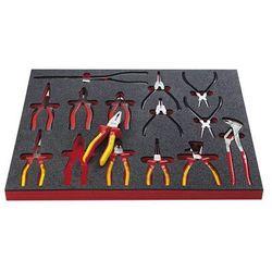 Vigor Zestaw narzędzi force, obcęgi i wyposażenie dodatkowe, 14-częściowy, we wkładce