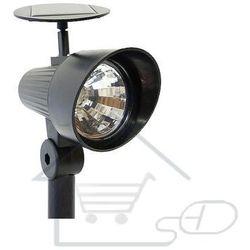 Lampa solarna na baterie słoneczne ze stojakiem reflektor marki 1