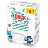 Duck Fresh Discs Żelowy krążek do WC Active Eucalyptus 6 szt, kup u jednego z partnerów