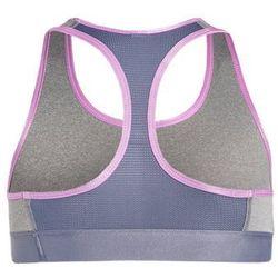 Under Armour Biustonosz sportowy true gray heather/aurora purple/verve violet - sprawdź w wybranym sklepie