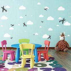 Nakleo Szablon malarski wielokrotny dla dzieci (5 szt.) // samoloty #1 (5903175800251)