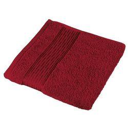 Bellatex  ręcznik kamilka pasek bordowy, 50 x 100 cm, kategoria: ręczniki