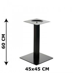 Podstawa stolika E44/60, o wysokości 60 cm (stolik kawowy), E44/60