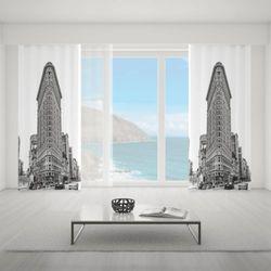 Zasłona okienna na wymiar - AMERICAN ARCHITECTURE