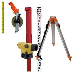 Niwelator optyczny TOPCON AT-B3 Zestaw statyw łata (niwelator)