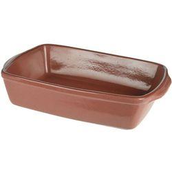 Ceramiczne naczynie żaroodporne do zapiekania 3,5 L, brązowe