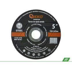Tarcza do metalu Geko 125x1.2x22 G78212, towar z kategorii: Tarcze do cięcia
