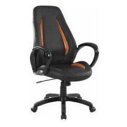 Fotel Tiger czarno-pomarańczowy - ZADZWOŃ I ZŁAP RABAT DO -10%! TELEFON: 601-892-200