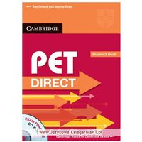 PET Direct Student's Book with Cd-rom, Sue Ireland