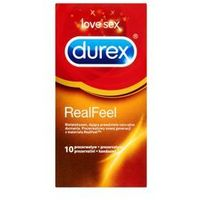 Durex Real feel - najbardziej naturalne doznania (10szt.) - natychmiastowa wysyłka za 7,99zł + 100% dyskrecj