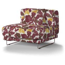 Dekoria Pokrowiec na sofę Tylösand 1-osobową nierozkładaną, żółto-brązowe kwiaty, sofa tylösand 1-osobowa nierozkładana, Wyprzedaż do -30%, kolor brązowy