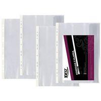Koszulka krystaliczna z klapką Idest A4/25szt. 110mic z kategorii Koszulki, teczki, koperty