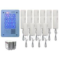Zestaw 16-rodzinny Radbit Cyfrowy panel domofonowy KEC-4 PT MINI GD36, ZR12343