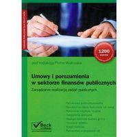 Umowy i porozumienia w sektorze finansów publicznych (2012)