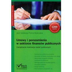 Umowy i porozumienia w sektorze finansów publicznych, rok wydania (2012)