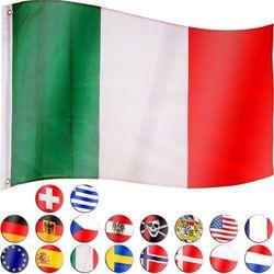 FLAGA WŁOCH WŁOSKA 120x80 CM NA MASZT WŁOCHY (4048821749162)