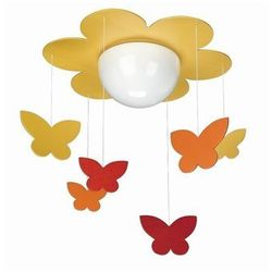 Philips Lampa sufitowa  400963416, meria, 1x15w, żółty, kategoria: oświetlenie dla dzieci