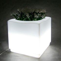 CARRE donica podświetlana LED - produkt z kategorii- Doniczki i podstawki