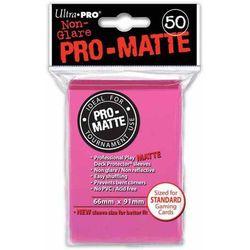 Koszulki(protektory) Ultra Pro jaskraworóżowe 50 szt.