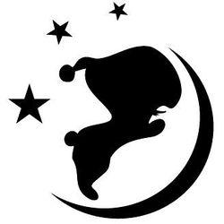 Szabloneria Szablon malarski z tworzywa, wielorazowy, wzór dla dzieci 85 - słodkich snów