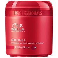 Wella  brilliance mask normal hair 500ml w maska do włosów normalnych i farbowanych