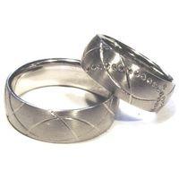 Obrączki ślubne z stali nierdzewnej oc1105 (obrączki ślubne) marki Altar®