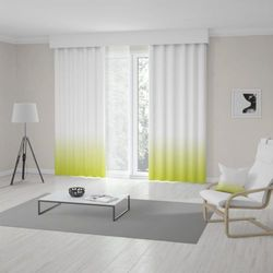 Zasłona okienna na wymiar - SPRING GREEN - KOLOR 100 CM