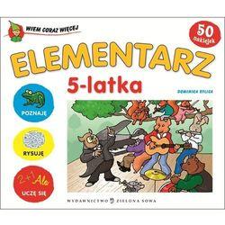 Wiem coraz więcej Elementarz 5-latka, książka w oprawie kartonowej