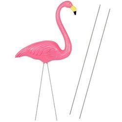 Figurka ogrodowa flaming ozdoba dekoracja różowa 85cm (5907719407357)