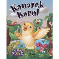 Kanarek Karol Rozkładanki 3D (16 str.)