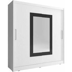 Szafa przesuwna Wiki II 180cm biały