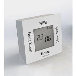 """Zegar stojący """"Turn4Time"""" biały by Nextime, 5190 WI"""