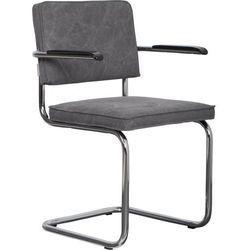krzesło ridge brushed vintage szare 1100115 marki Zuiver