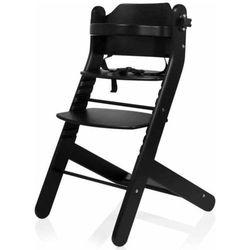 Baninni Wysokie krzesełko Dolce Mio, czarne, BNDT003-BK
