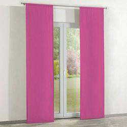 Dekoria zasłony panelowe 2 szt., różowy, 60 × 260 cm, jupiter