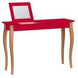 Toaletka lillo z lusterkiem - duża/czerwony marki Ragaba