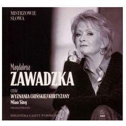 Wyznania chińskiej kurtyzany. Audiobook (płyta CD, format mp3), pozycja wydana w roku: 2007