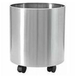 steelecht-35, stainless steel pot, Ø35cm, doniczka marki Europalms