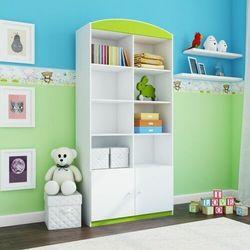 Regał do pokoju dziecka, podwójny, babydreams, 90 cm, zielony marki Kocotkids