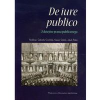 De iure publico Z dziejów prawa publicznego, oprawa miękka