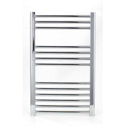 Zestaw: grzejnik łazienkowy york 500x800 + kątowy zawór termostatyczny z zaworem odcinającym marki Tho
