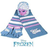 Licencja - disney Komplet - czapka, szalik i rękawiczki frozen - kraina lodu - elsa