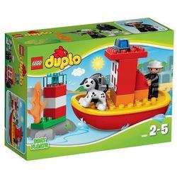Lego Duplo 10591 ŁÓDŹ STRAŻACKA KLOCKI DUPLO 10591, klocki