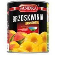 Brzoskwinie połówki 850 ml Sandra