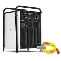 Trotec Nagrzewnica elektryczna tds 75 biała + przedłużacz profi 20 m / 230 v / 2,5 mm² (4052138031599)
