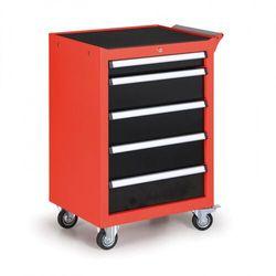 Pojemnik na narzędzia na kółkach, 5 szuflad marki B2b partner