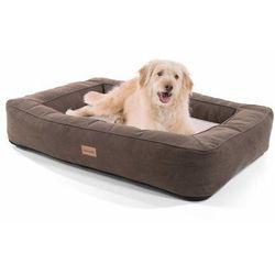 Brunolie Bruno, legowisko/kosz dla psa, możliwość prania, ortopedyczne, antypoślizgowe, oddychające, pianka z pamięcią kształtu, rozmiar L (100 x 17 x 70 cm)